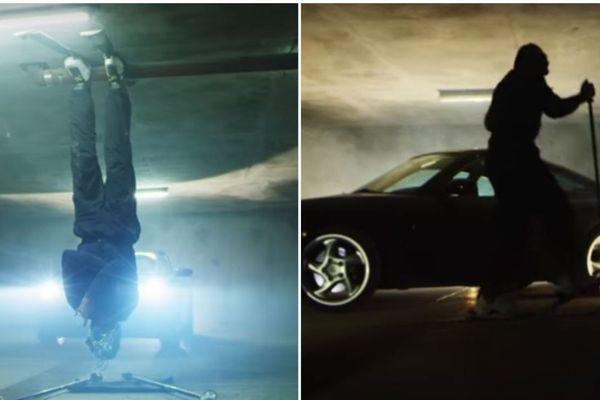 Le clip a été réalisé dans un parking souterrain de Tignes, en Savoie