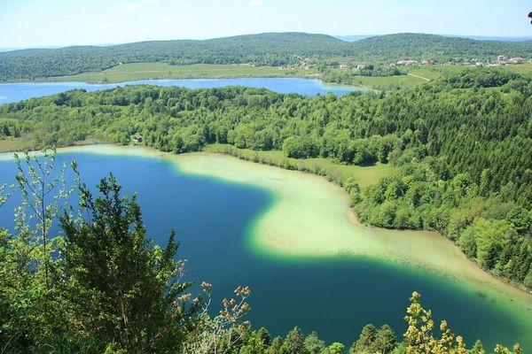 les beaux lacs du Jura, d'Ilay à Narlay...