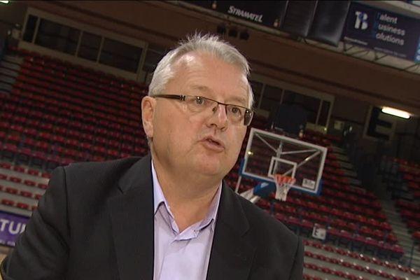 Décès de Marc Barbé, président du SLUC Nancy Basket