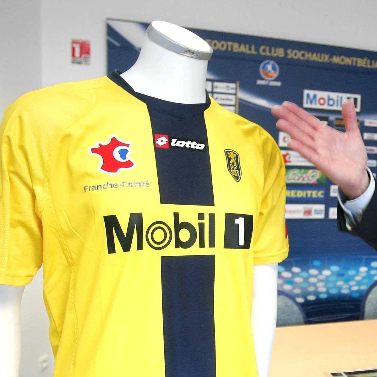 Après 16 ans sous la marque Lotto, le FC Sochaux Montbéliard