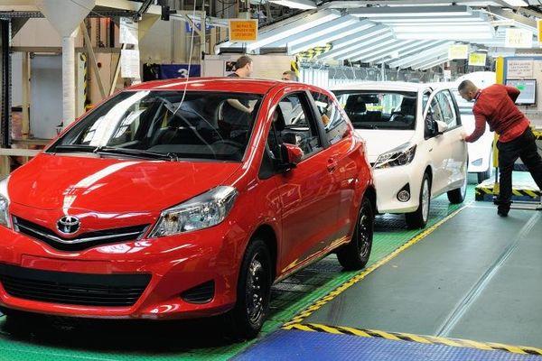 La Toyota Yaris est l'un des modèles concernés par ce rappel massif.