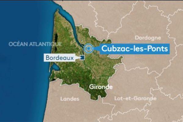 Trois voitures se sont percutées à Cubzac-les-Ponts sur l'A10.