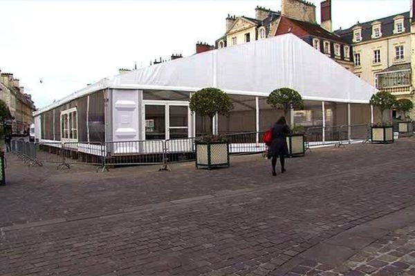 Désormais, le Salon du Livre de Caen se tiendra place Saint-Sauveur