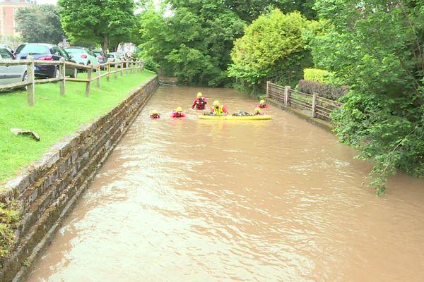De violents orages ont provoqués d'importantes inondations dans l'Oise et l'Aisne fin juin