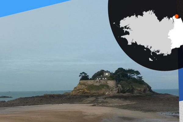 L'île Du Guesclin où a vécu Léo Ferré