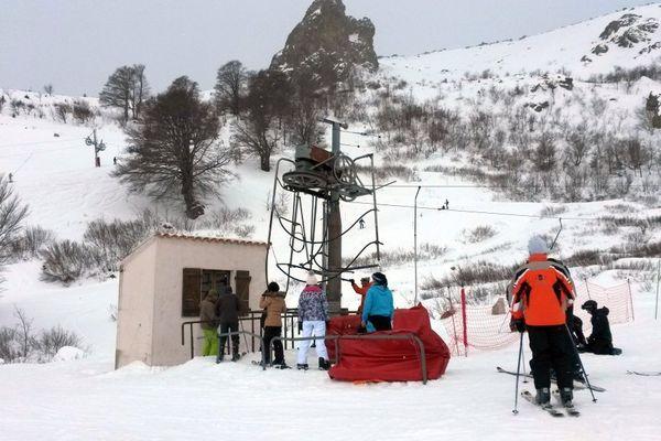 15/02/15 - Une journée de ski à la station de Ghisoni en Haute-Corse