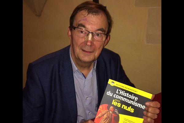 Bernard Lecomte, à Dijon, le 27 octobre 2017