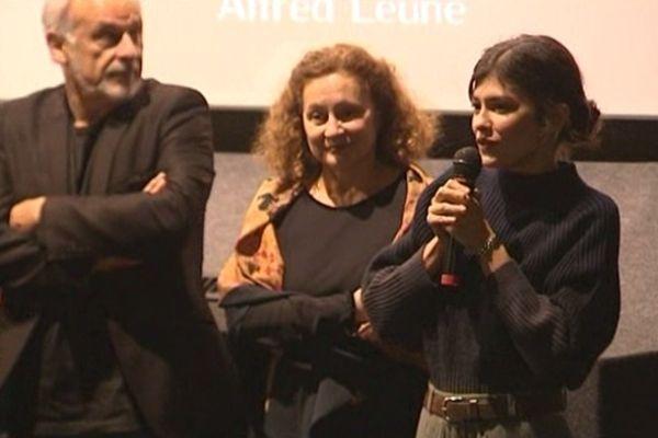 Audrey Tautou hier soir à Guéret