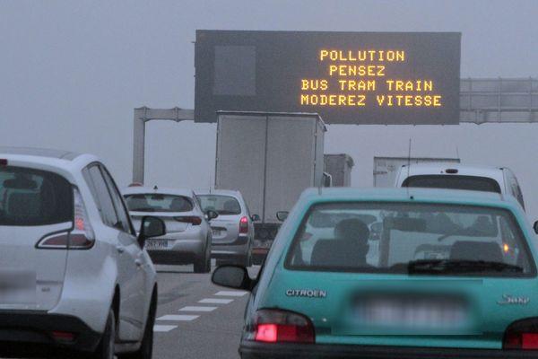 La procédure d'alerte à la pollution atmosphérique a été déclenchée pour le samedi 25 janvier dans le Bas-Rhin.