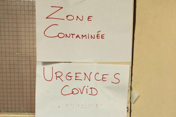 L'hôpital de Bastia a dû s'adapter, en catastrophe, et avec les moyens du bord, à la vague de Covid-19