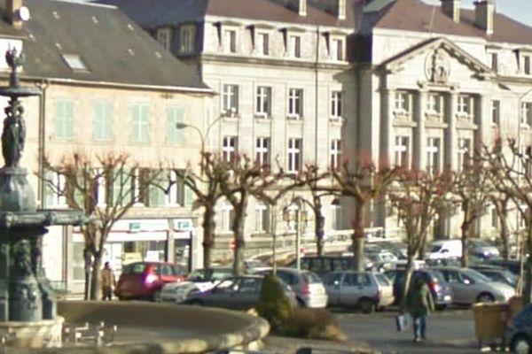 La place Bonnyaud à Guéret