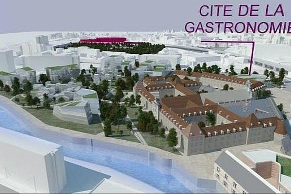 La ville de Dijon a déposé un dossier pour accueillir la future Cité internationale de la gastronomie