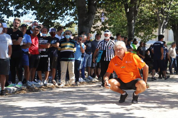 Les spectateurs ont assisté au show Marco Foyot dans les allées du Parc Borély.