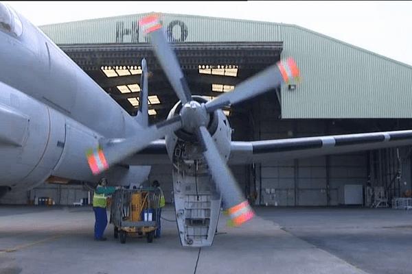 Les avions sur la base militaire de Lann Bihoué (Quéven - 56)