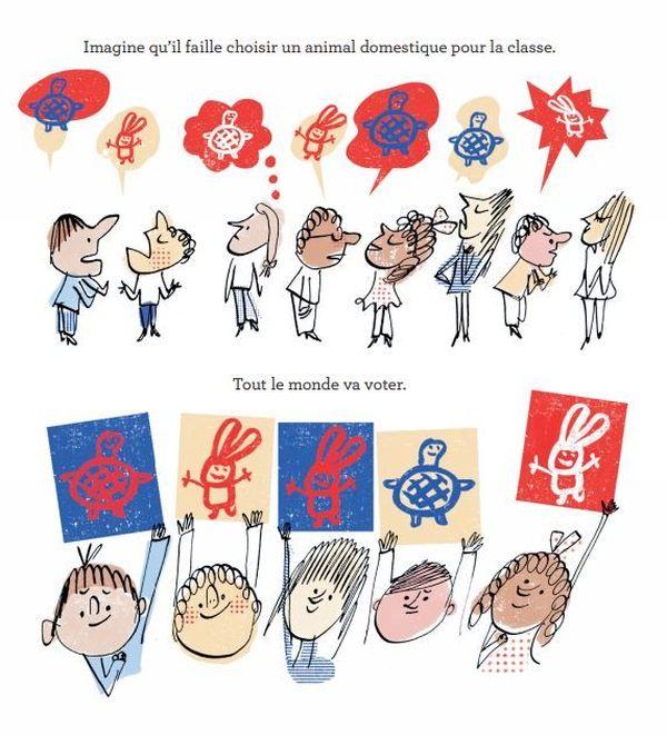 Je vote ! Je choisis ! de Mark Schulman et Serge Bloch