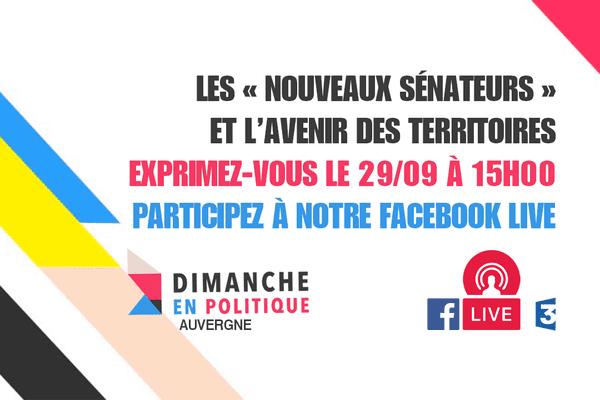 Dimanche en Politique : les « nouveaux sénateurs », une émission présentée par Pierre-Olivier Belle.