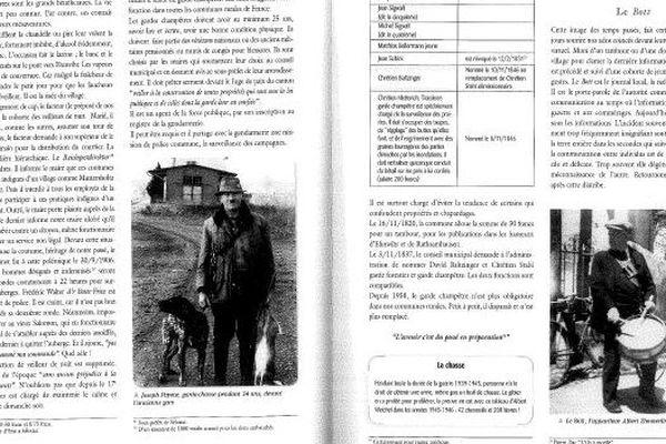 """Un ouvrage sur Muttersholtz évoque le messager municipal, appelé """"Le Bott"""" en alsacien"""