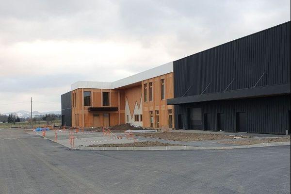 A Cébazat, le nouveau siège social de Picture Organic Clothing sera bientôt opérationnel.