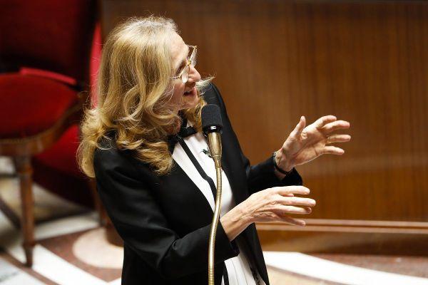 Nicole Belloubet, à l'Assemblée Nationale, le 23 juin 2020.