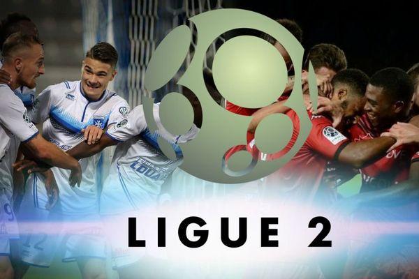 L'AJA n'a pas tenu en seconde mi-temps face à Laval lors de la 21ème journée de Ligue 2