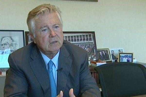 Jean-Pierre Grand, sénateur maire LR de Castelnau-le-Lez, Hérault - archives