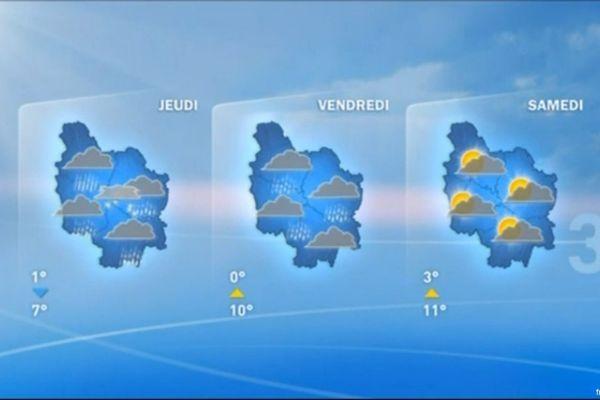 Les prévisions de météo France pour les prochains jours