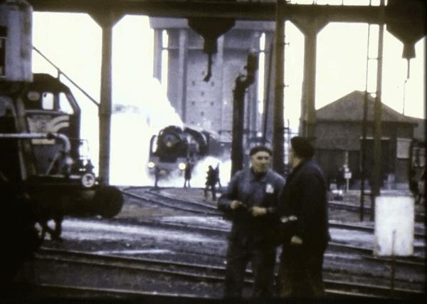 Le filmeur de train