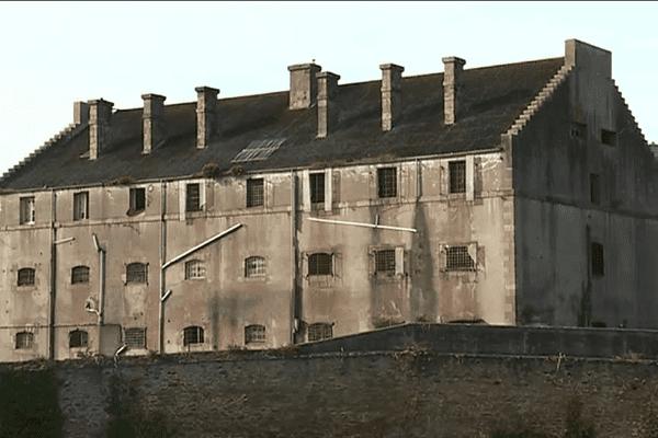 La prison de Pontaniou à Brest