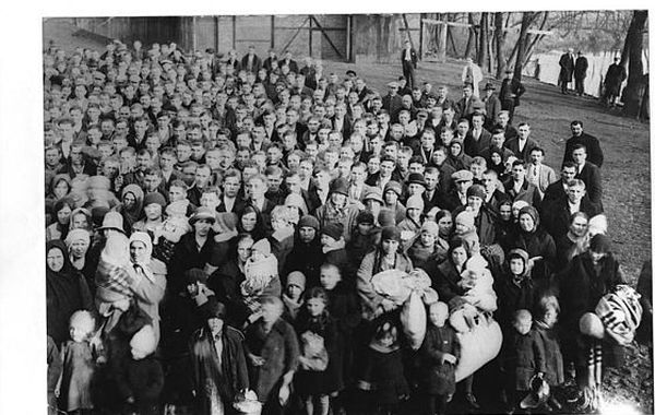 Arrivée des immigrés polonais à Toul