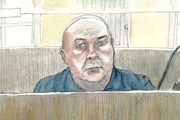 Willy Bardon lors de son procès en décembre 2019