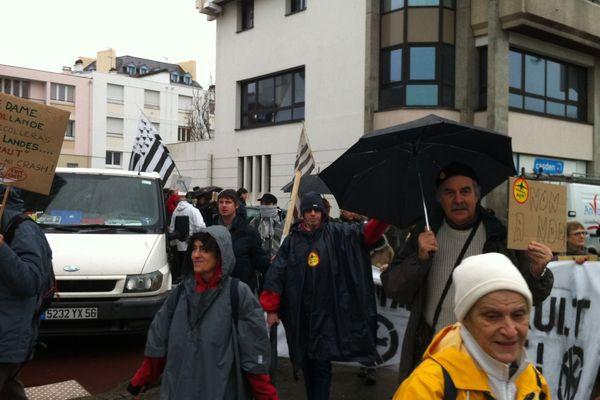 Manifestation de solidarité à Notre-Dame-des-Landes