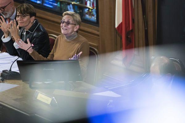 Isabelle Balkany, première adjointe à la mairie de Levallois-Perret, préside le conseil municipal en l'absence de son mari, incarcéré pour fraude fiscale. (Illustration)