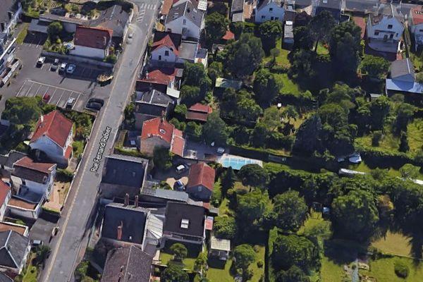 Le quartier Rabier à Fleury les Aubrais.