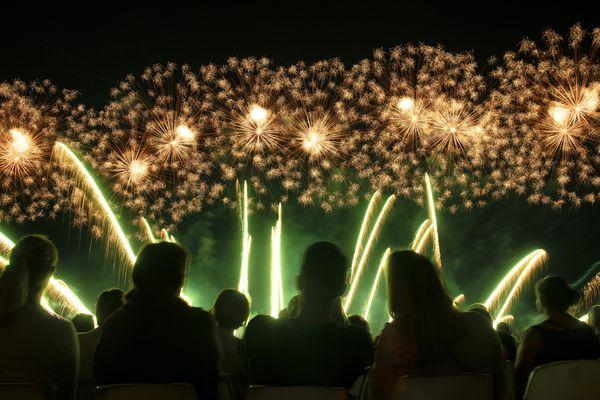 La dernière Fête du Lac d'Annecy a eu lieu le 4 août 2019.