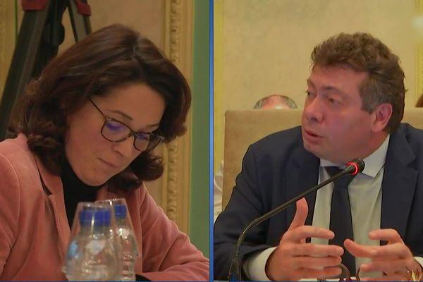 Le maire et l'ancienne première adjointe d'Aix-les-Bains se sont écharpés en conseil municipal.