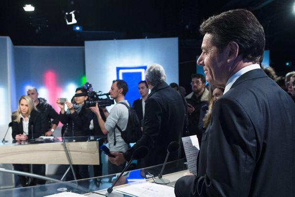 Christian Estrosi et Marion Maréchal Le Pen sur le plateau de France 3.