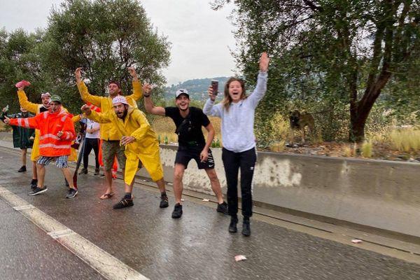 Un Tour de France doux-amer pour le public mais avec une ambiance certaine à Nice