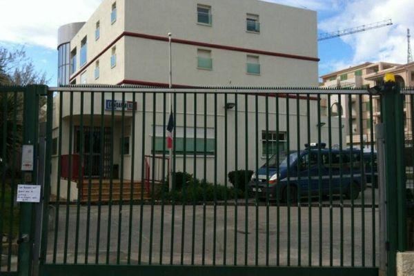 Gendarmerie d'Ile Rousse où le gendarme s'est donné la mort le 30 décembre 2013