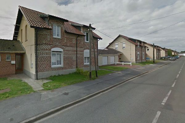 Rue Général-Leclerc à Noeux-les-Mines