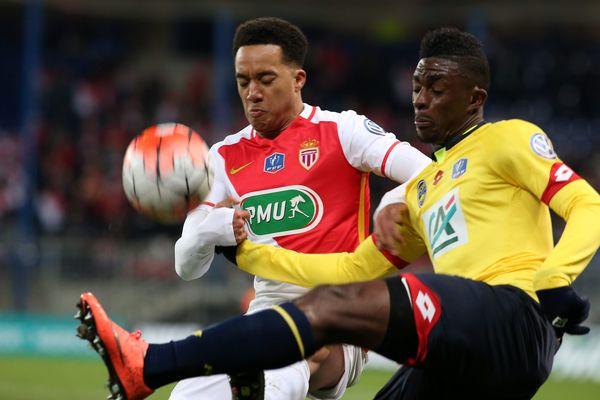 Sochaux - Monaco en février 2016 en coupe de France