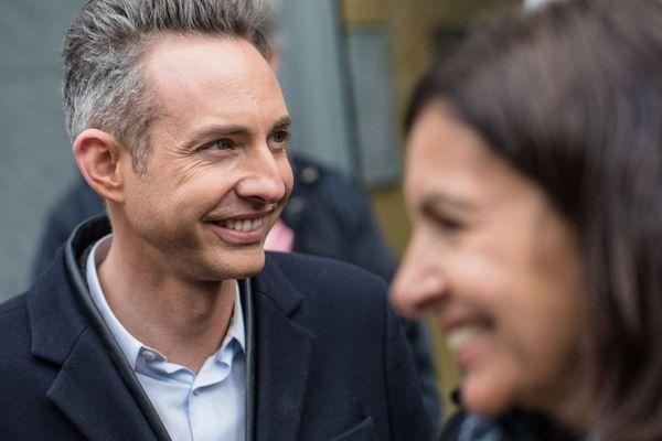 Ian Brossat, adjoint à la Maire de Paris, et Anne Hidalgo, maire de Paris, en mars 2019.