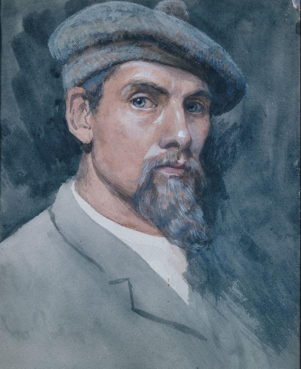 Christian Skredsvig, portrait datant de 1885