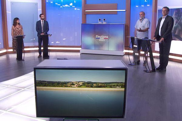 Débat avant le premier tour des élections départementales dans le Lot-et-Garonne - 14 juin 2021