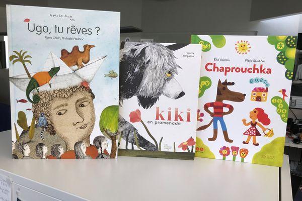 Trois livres pour les enfants rêveurs
