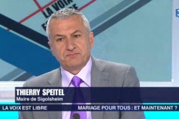 """Thierry Speitel, invité de """"La Voix est libre"""" samedi 27 avril"""