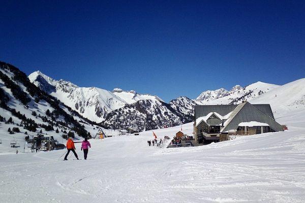 Domaine de Saint-Lary (vallée d'Aure- Hautes-Pyrénées)