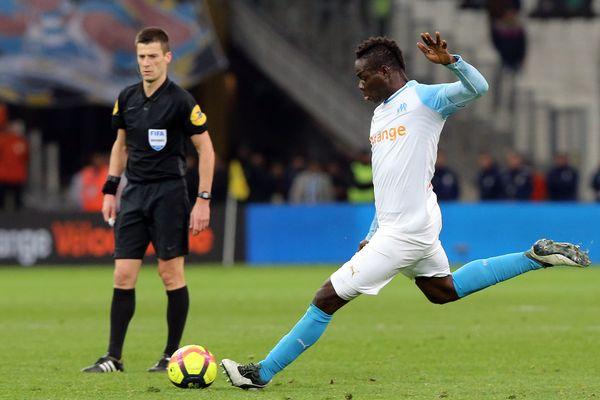 Mario Balotelli, remis de sa blessure, devrait débuter la rencontre contre Nantes