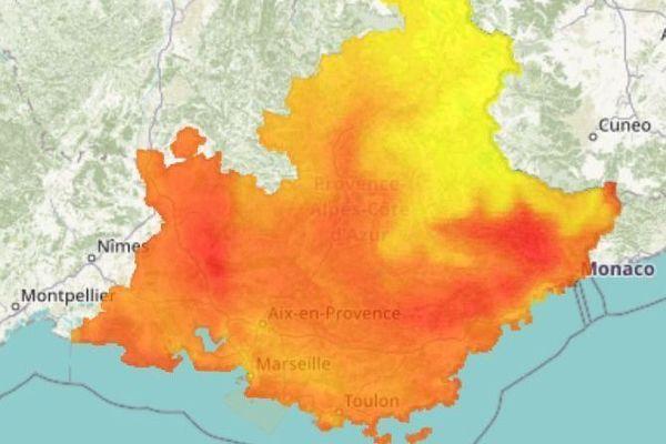 L'association AtmoSud place la région en alerte pollution ce mardi 25 juin 2019