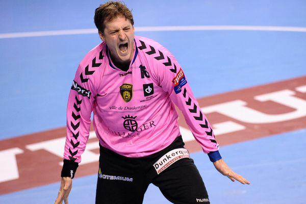 William Annotel, grand artisan de la qualification dunkerquoise en 1/8e de finale de Ligue des Champions de handball