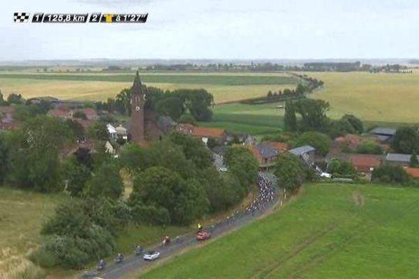 Le passage du Tour de France dans le Nord-Pas-de-Calais a permis aux téléspectateurs de découvrir de belles images aériennes de la région.